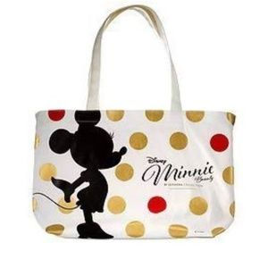 HTF Disney Minnie Sephora Canvas Tote Limited NIB